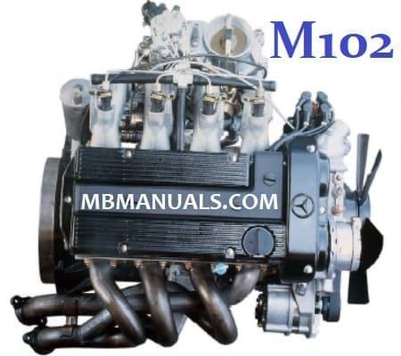 Mercedes Benz M102 Engine Service Repair Manual