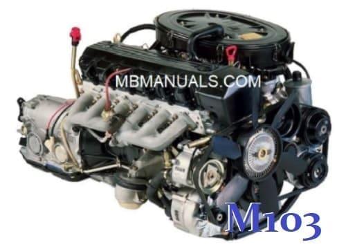 mercedes benz m103 engine service repair manual .pdf  mercedes benz manuals