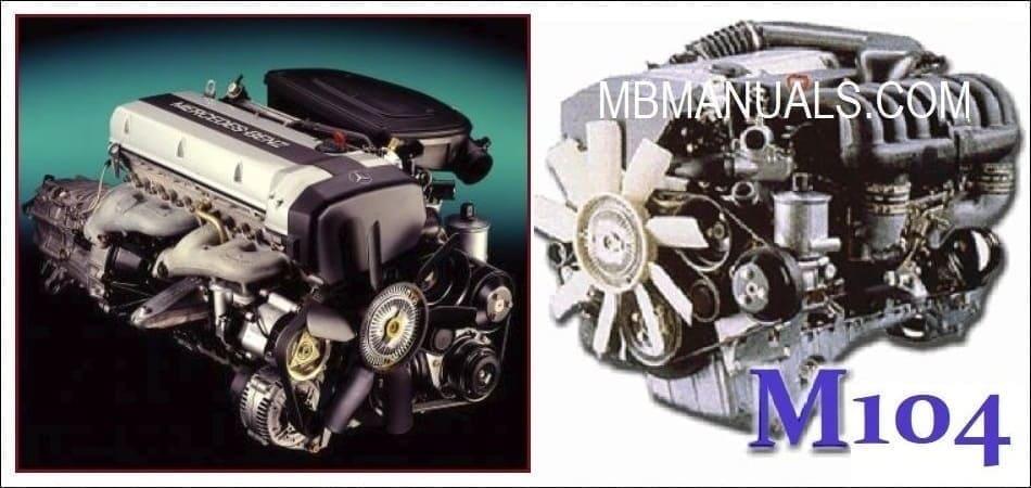 Mercedes Benz M104 Engine Service Repair Manual  Pdf