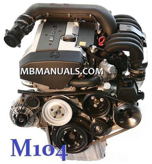 Mercedes Benz M104 Engine Service Repair Manual