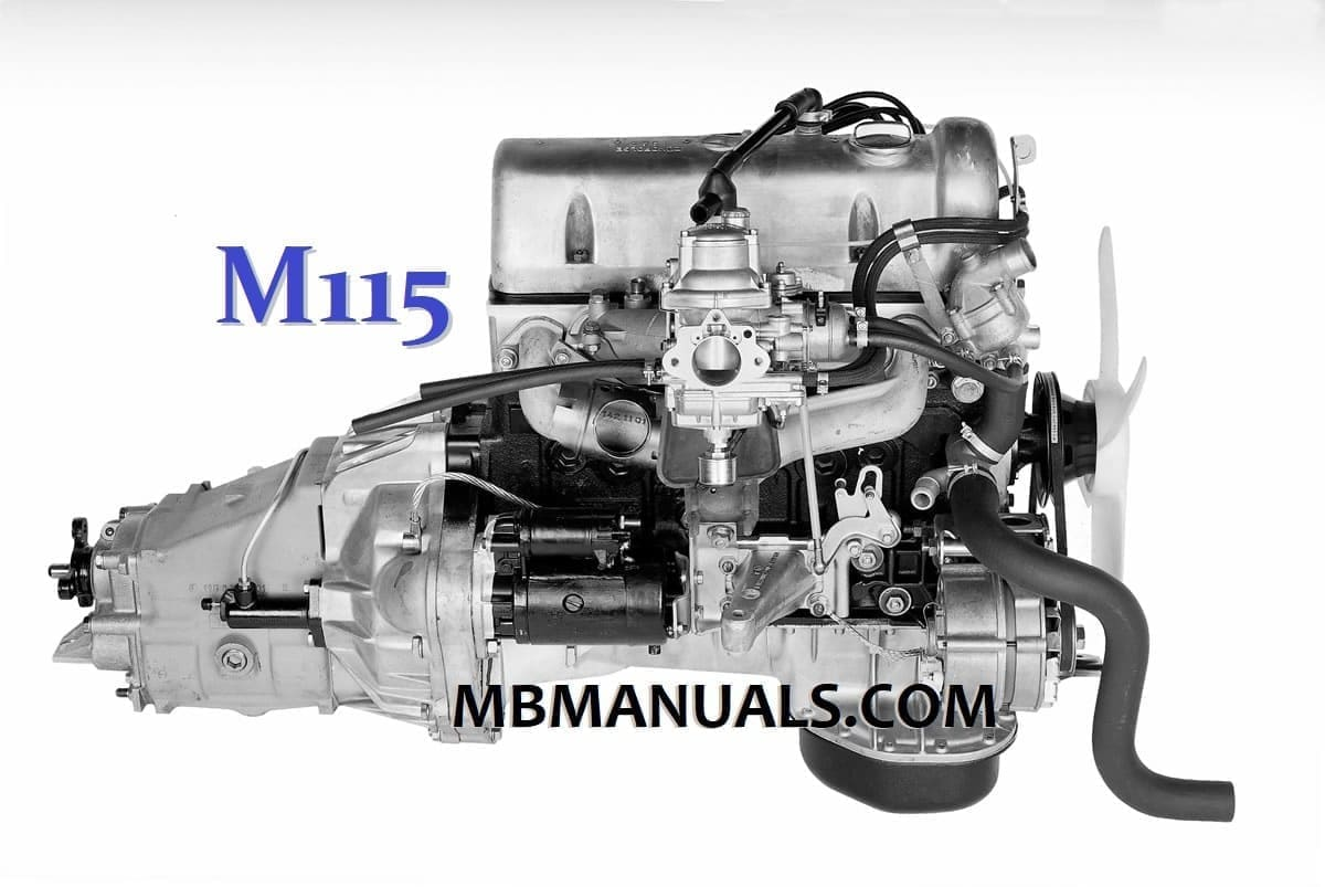 Mercedes Benz M115 Engine