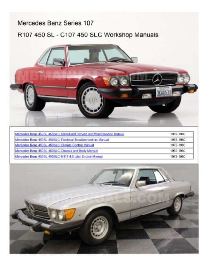 Mercedes 450sl Engine Diagram - Wiring Diagram Article
