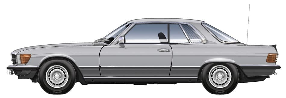 Mercedes Benz C107 280SLC
