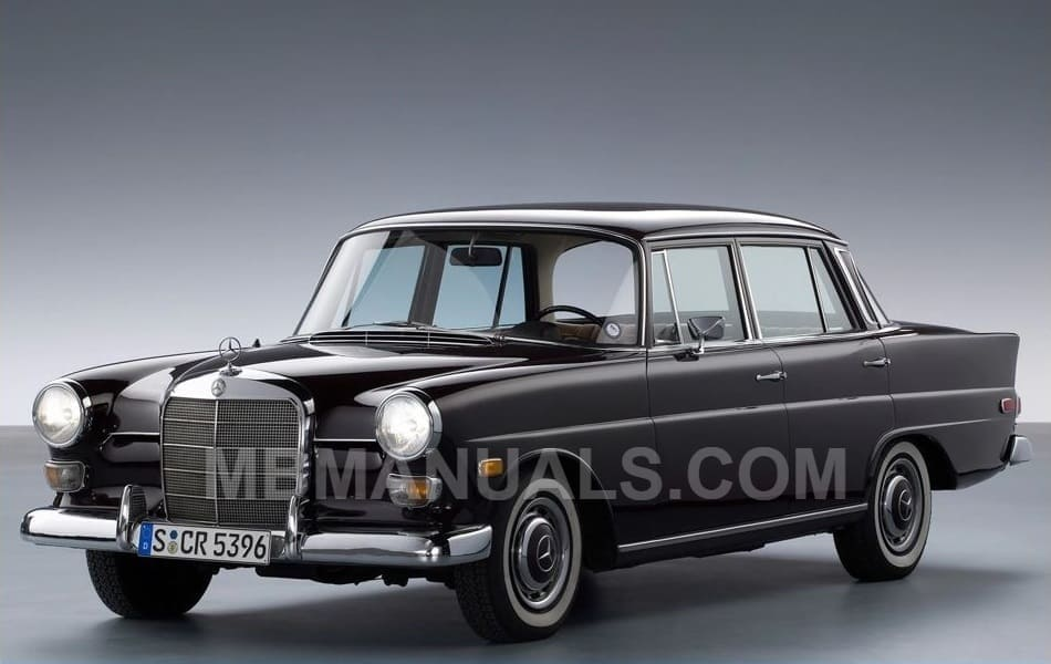 mercedes benz 110 w110 service repair manuals mercedes benz trunk wiring diagrams