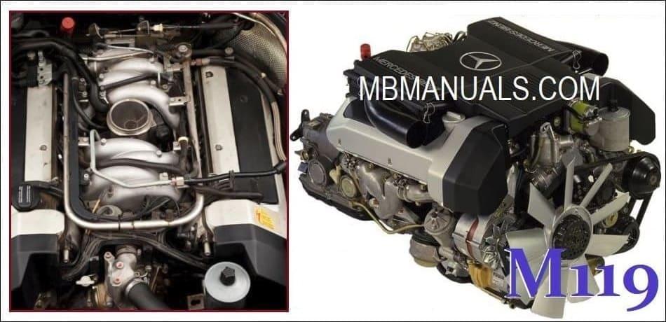 Mercedes Benz M119 Engine Service Repair Manual