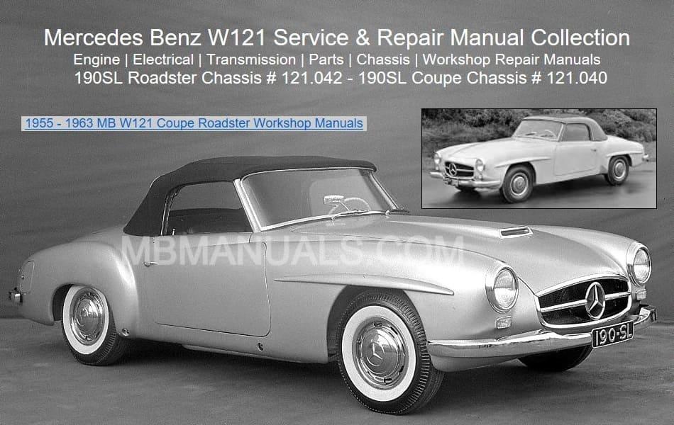 Wondrous Mercedes Benz 121 W121 Service Repair Manuals Wiring Digital Resources Millslowmaporg