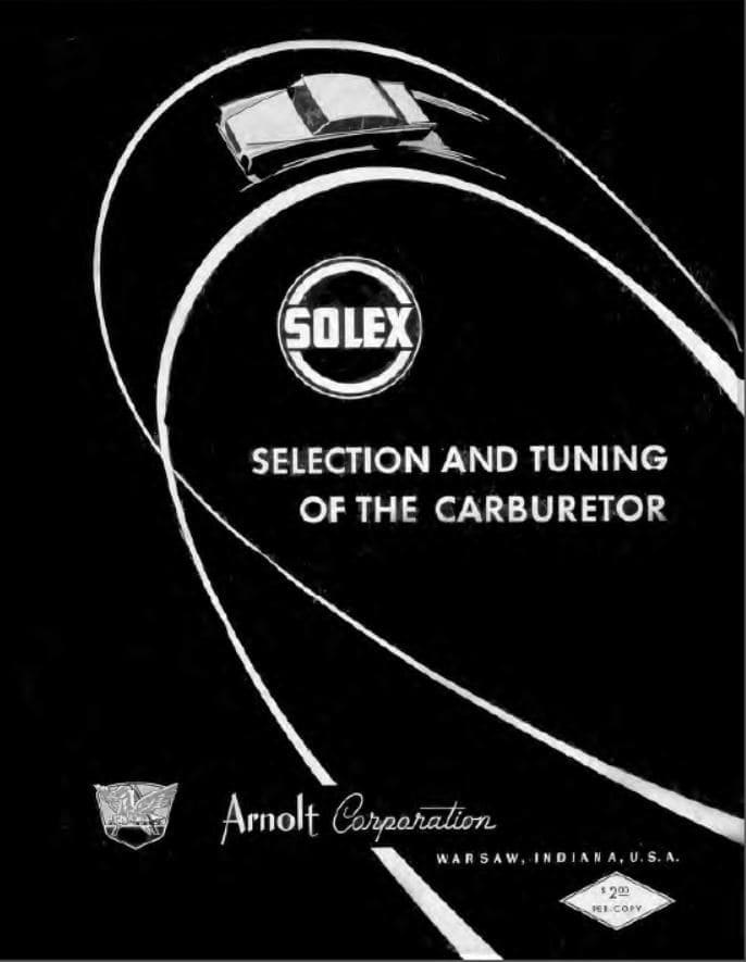Mercedes Solex Carburetor Manual