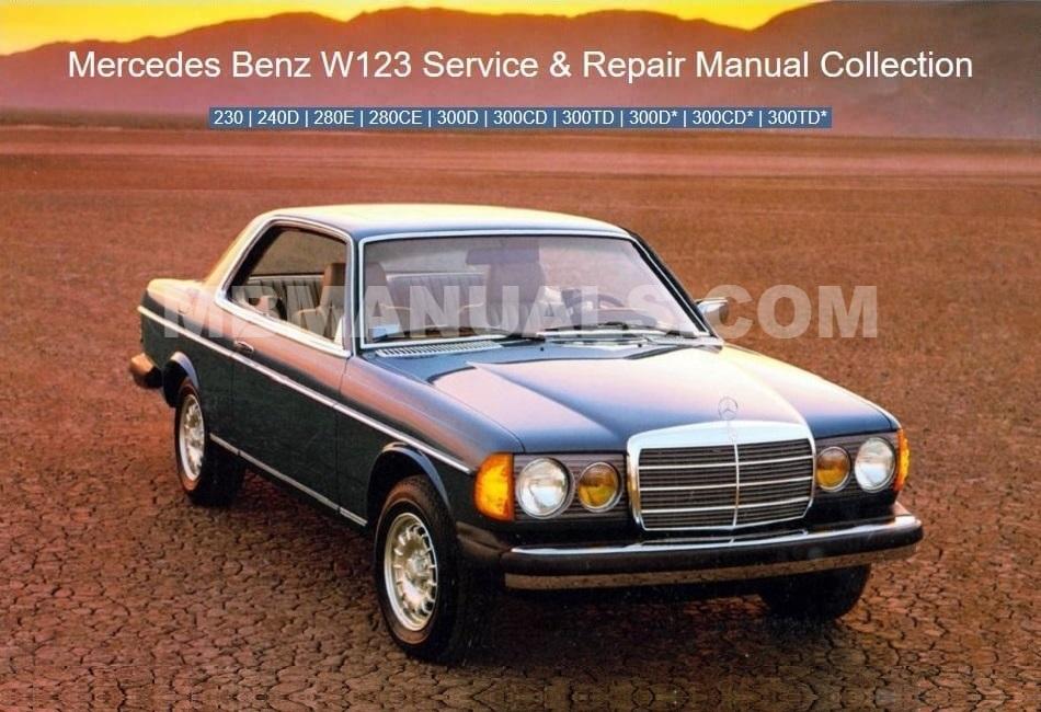 Mercedes Benz 123 W123 Service Repair Manuals