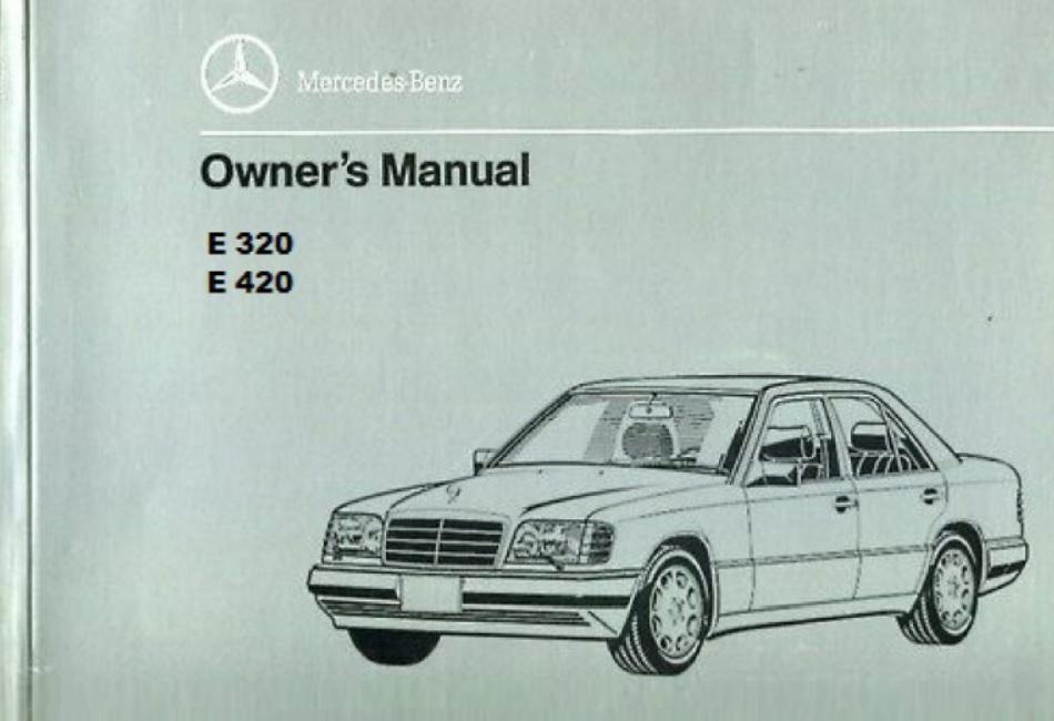 Mercedes Benz 124 W124 Service Repair Manual Pdf