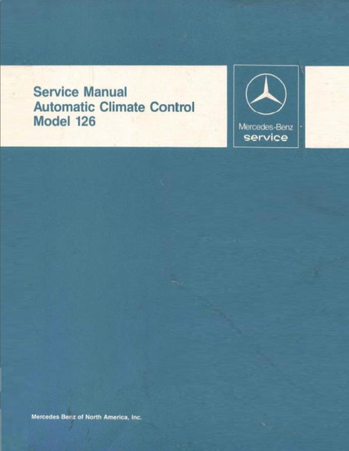 [SCHEMATICS_4UK]  Mercedes Benz 126 W126 Service Repair Manuals | Mercedes 500sec Engine Diagram |  | Mercedes Benz Manuals