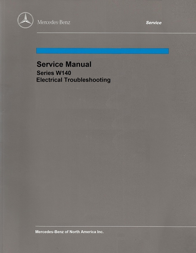 Mercedes Benz 140 W140 Service Repair Manuals