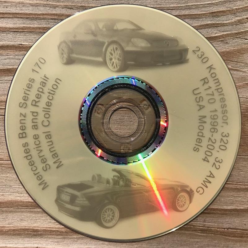 Mercedes Benz 170 R170 Slk Service Repair Manuals