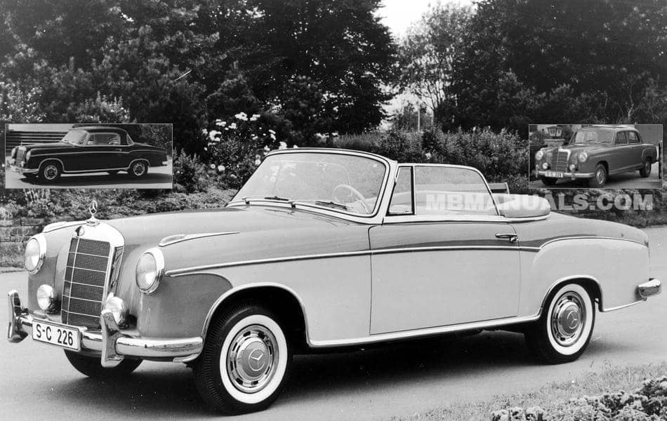 Mercedes Benz W180 Series