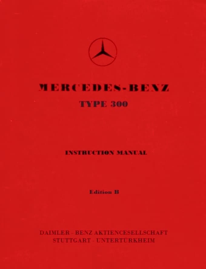 Mercedes W187 220 Owners Manual pdf
