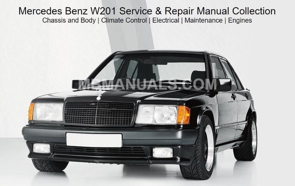 [SCHEMATICS_48DE]  Mercedes Benz 201 W201 Service Repair Manuals | Mercedes 190e 2 6 Engine Diagram |  | Mercedes Benz Manuals