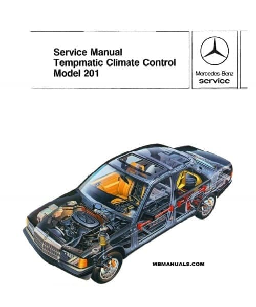 Mercedes W201 Climate Control Manual