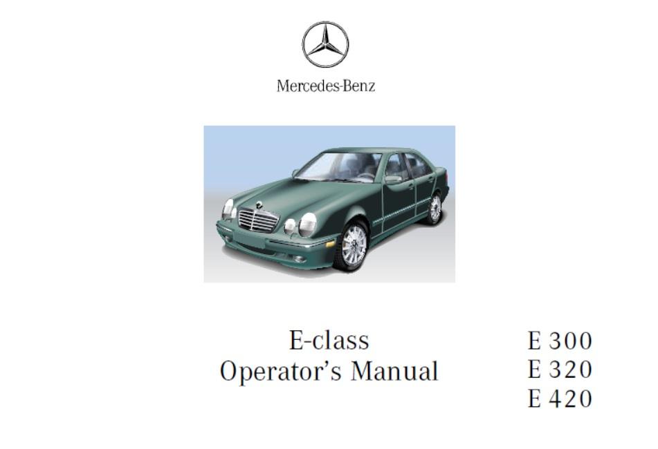 Mercedes Benz 210 W210 Service Repair Manual Pdf