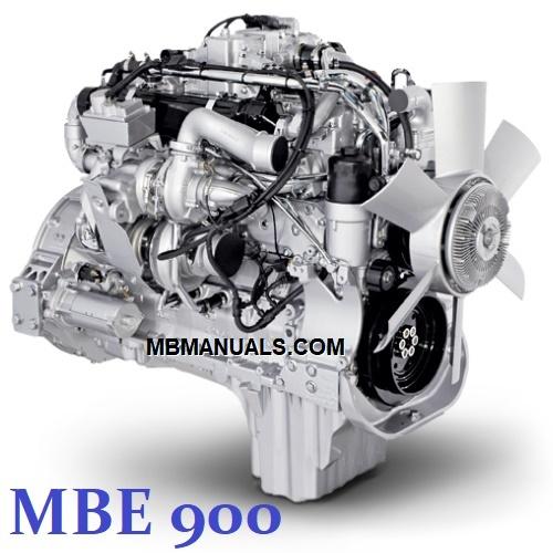 Mercedes Benz Mbe900 Diesel Engine Service Repair Manuals
