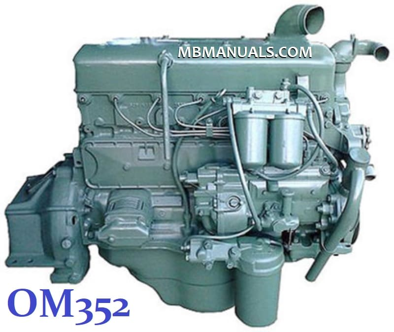 Mercedes Benz OM352 Diesel Engine Service Repair Manual .pdf