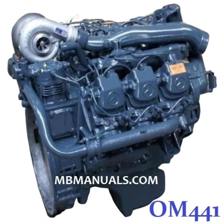 Mercedes Benz OM441 Diesel Engine Service Repair Manual .pdf
