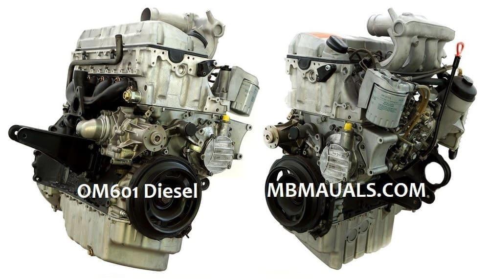 Mercedes Benz Om601 Engine Service Repair Manual border=