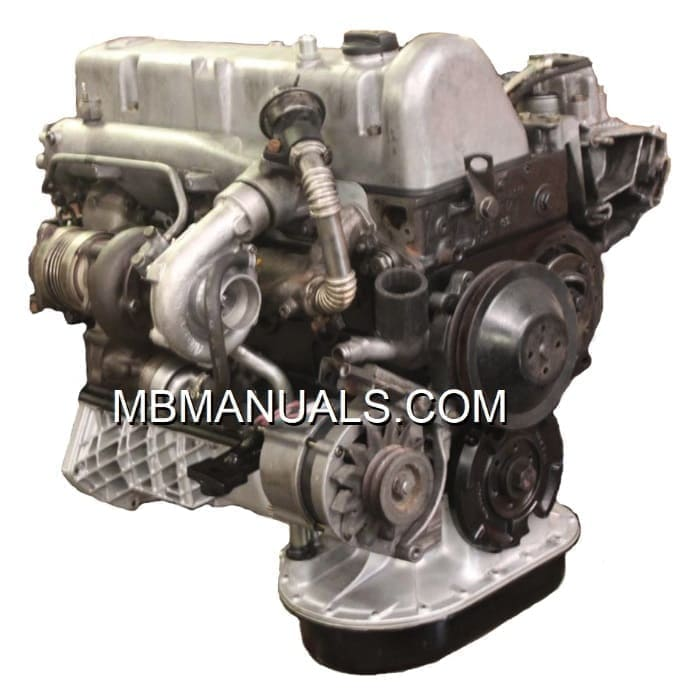 Mercedes Benz OM617 Diesel Engine Motor
