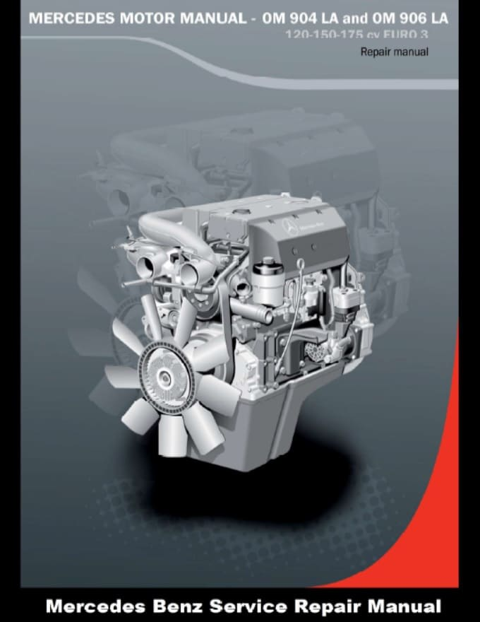 Mercedes Benz Om906la Engine Service Repair Manual