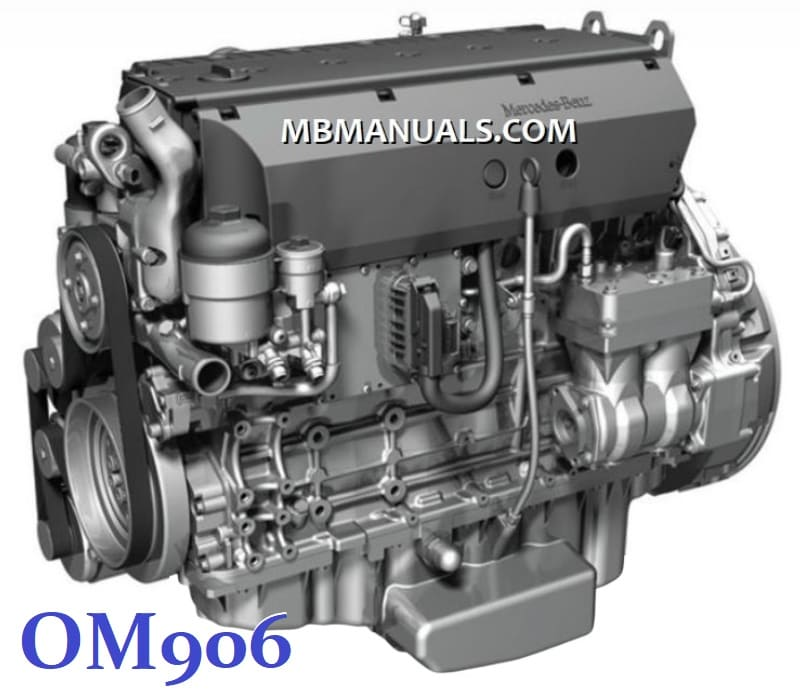 Mercedes Benz OM906LA Engine Service Repair Manual .pdf